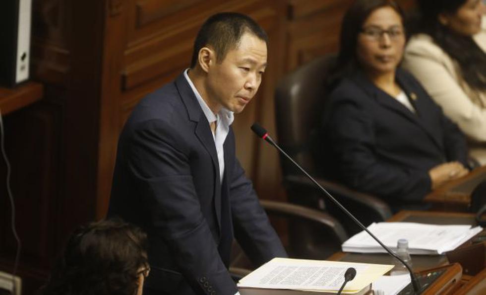 Kenji Fujimori es acusado de la presunta compra de votos para evitar la vacancia del ex presidente Pedro Pablo Kuczynski. (Perú21)