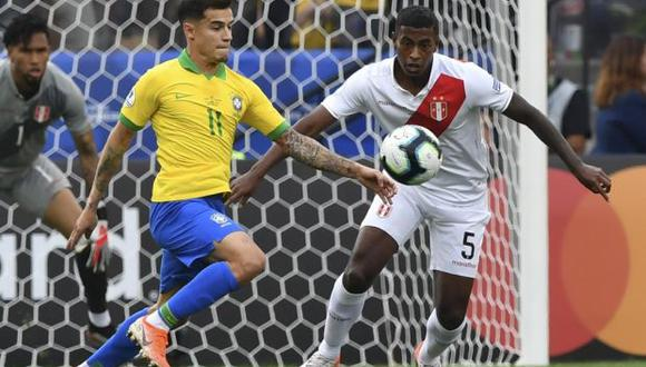 Araujo integró la delegación de la selección peruana para la Copa América 2019. (Foto: AFP)
