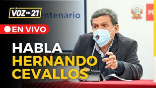 Entrevista al ministro de Salud Hernando Cevallos