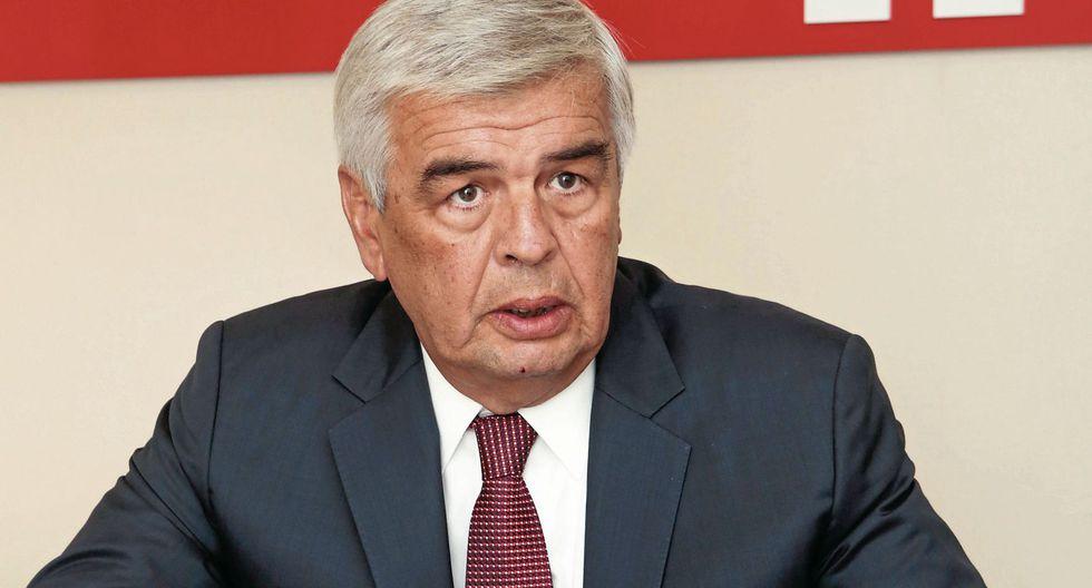 Julio Luque. Presidente de IPAE. (Diana Chávez)