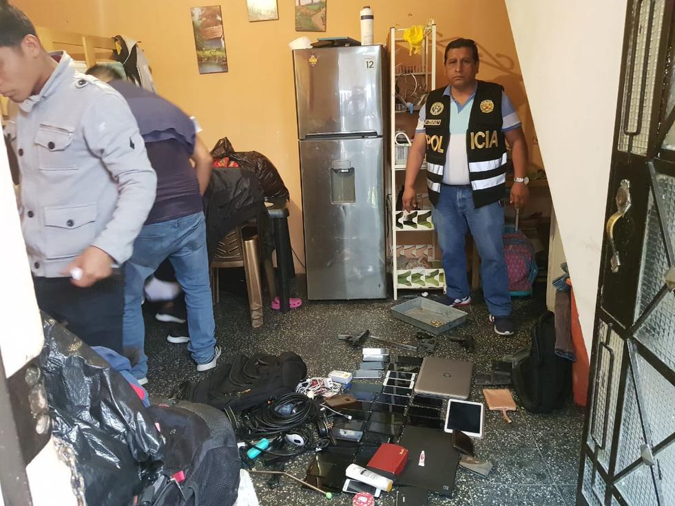 Terror. Delincuentes encañonaron a más de 50 personas. Todo quedó registrado en video. (Captura de video-PNP)