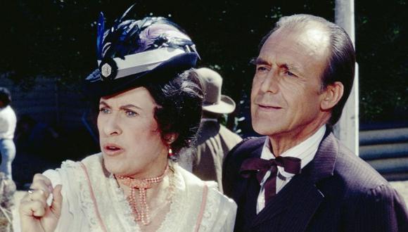 """Katherine MacGregor, actriz que interpretó a la malvada 'Harriet Oleson' en """"La Familia Ingalls"""", falleció el último martes. (Foto: NBC)"""