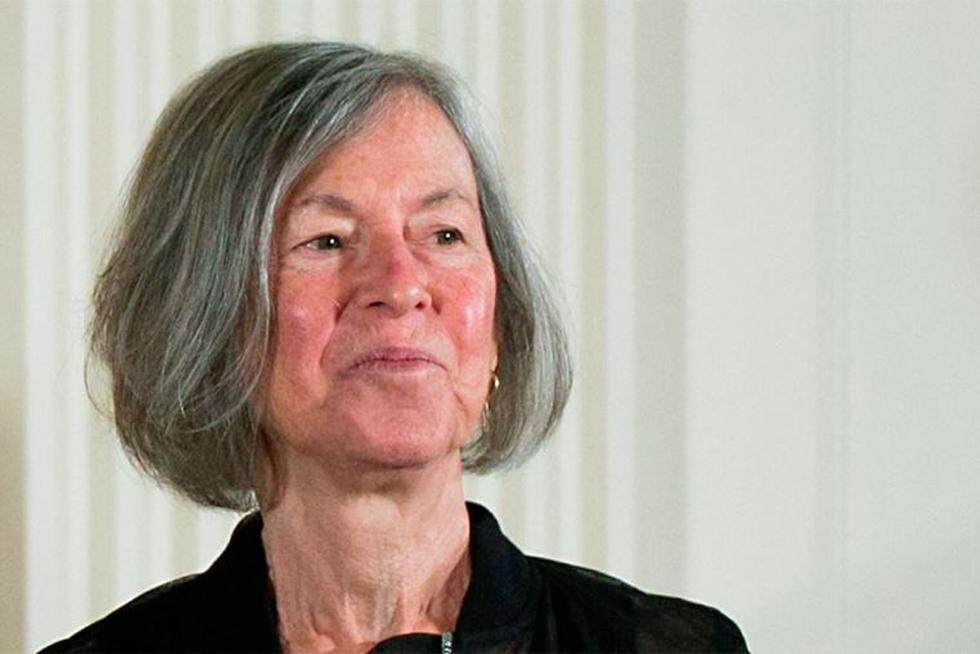 Louise Glück, premio nobel de Literatura. (EFE)