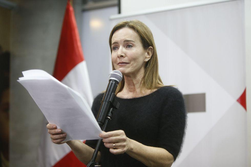 Marilú Martens será interpelada por el Congreso. (Perú21)