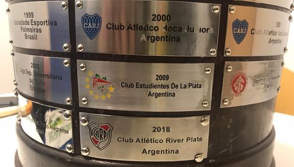 La Copa Libertadores luce un tremendo error en la base. (Foto: Conmebol Libertadores)