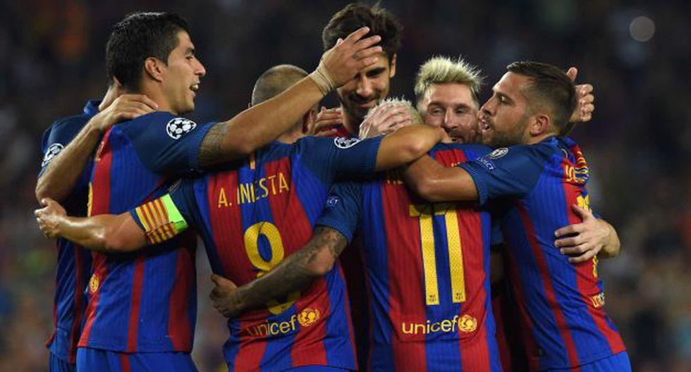 Barcelona vs. Leganés EN VIVO se miden por la Liga española. (AFP)