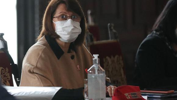 Pilar Mazzetti afirma que Zulema Tomás será la comisionada en intervención de la región Arequipa (Foto: PCM)