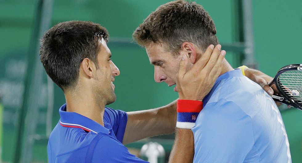 Novak Djokovic vs. Juan Martín Del Potro se enfrentarán por primera vez en una final. (Foto: AP)