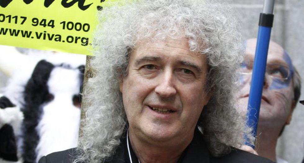 Brian May teme que tenga cáncer. (EFE)