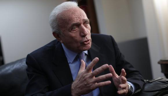 Guido Lombardi prefiere la exoneración de su discusión en comisiones ordinarias del Congreso. (Anthony Niño de Guzmán/Perú21)