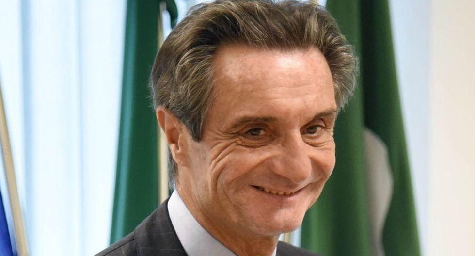 El presidente de la región de Lombardía (norte de Italia), Attilio Fontana, ha iniciado una cuarentena por coronavirus. (Facebook)