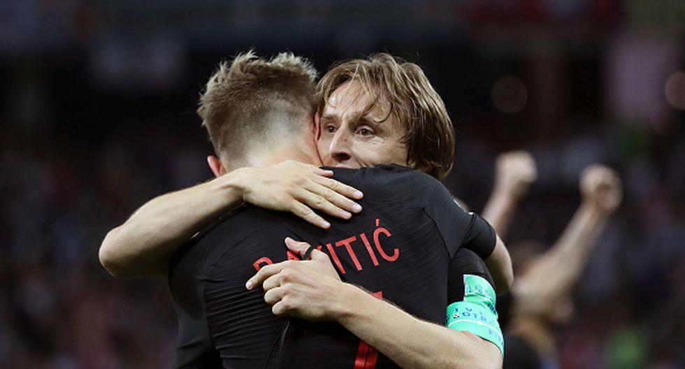 Luka Modric. (Getty)