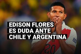 Edison Flores explicó lo que tendría que pasar para ser considerado ante Chile y Argentina