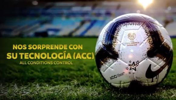 Este será el nuevo balón con el que se jugará la final de la Copa América Brasil 2019. (Foto: Copa América)