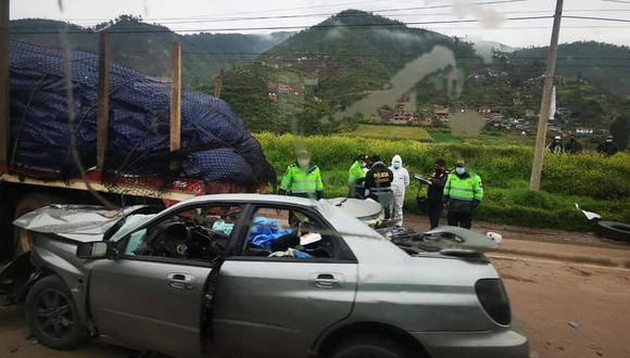 Accidente se registró en la zona conocida como 'El Bosque'  (Foto: PNP)