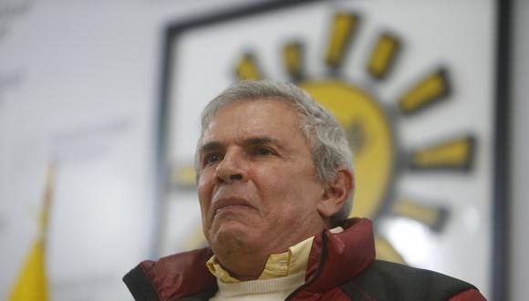 Luis Castañeda es el fundador de Solidaridad Nacional.  (Rafael Cornejo/GEC)