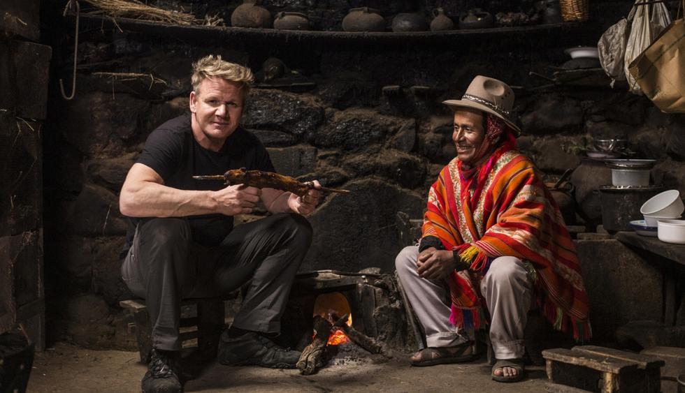 Gordon visita a Mario,un agricultor local en Perú. (Foto: National Geographic)