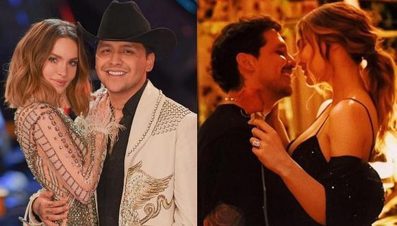 Belinda y Christian Nodal se convirtieron en una de las parejas más mediáticas de México. (Foto: @belindapop / Instagram)