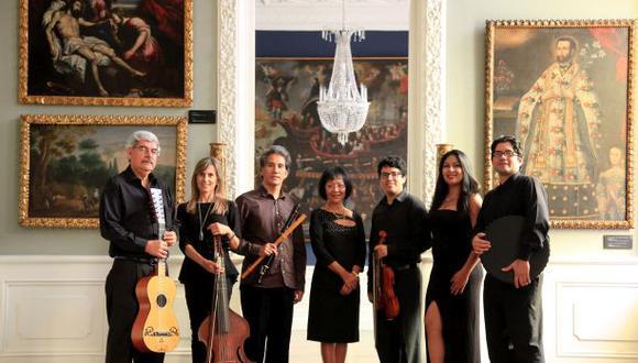 Artistas que participarán del XIV Festival Internacional de Música Antigua. (Difusión)