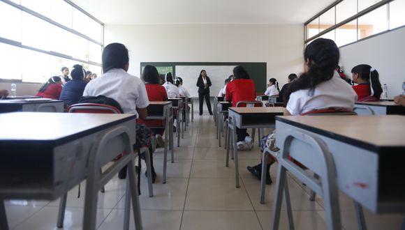 Los colegios no tiene por qué cobrar lo mismo, advirtió el ministro de Educación. (Foto: GEC).
