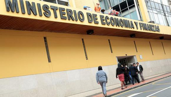 El Ministerio de Economía y Finanzas. (Foto: GEC)