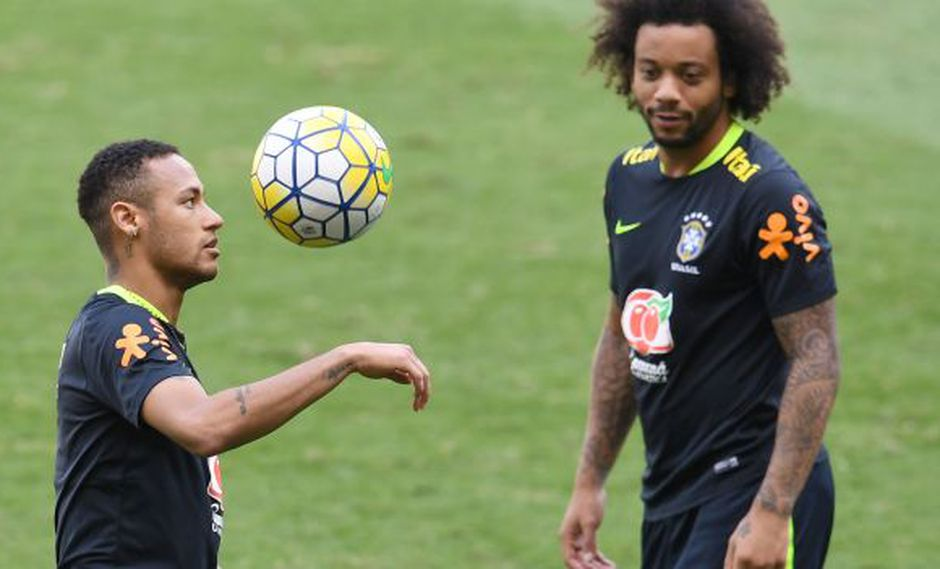 Marcelo elogió a Neymar y aprobó su posible llegada a Real Madrid. (Foto: AFP)