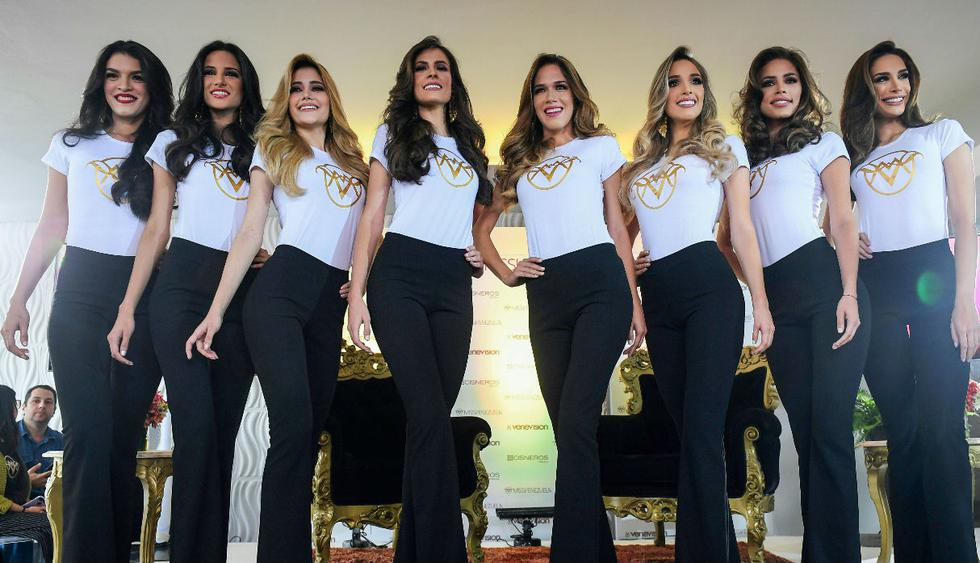 El concurso Miss Venezuela, que se celebrará este jueves, no mencionará por primera vez las medidas de cintura, cadera y busto de sus 24 candidatas (Foto: AFP)