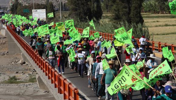 Cuando no se obtiene la licencia social se desencadenan protestas. (Foto: GEC)