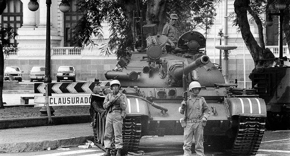 ¿Qué pasó el 5 de abril de 1992, día del autogolpe de Alberto Fujimori, hace 26 años?