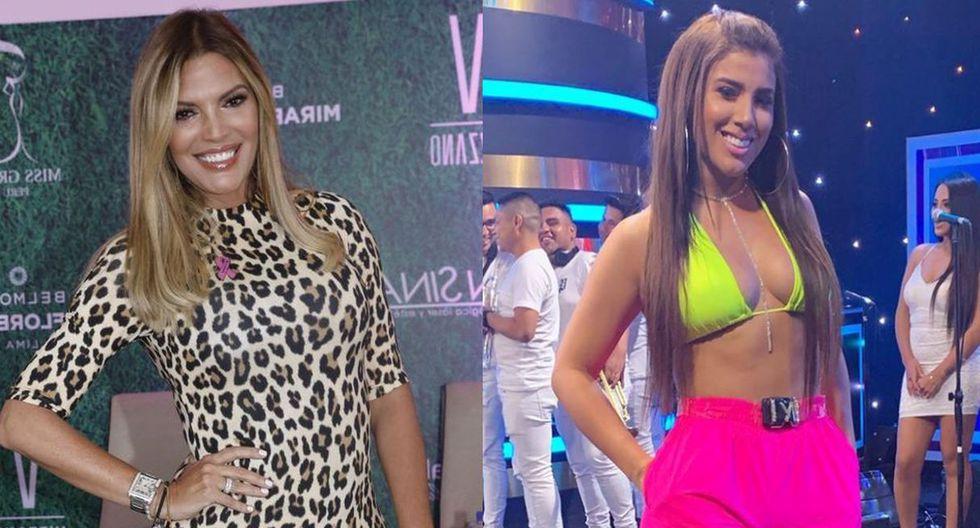 Jessica Newton quiere a Yahaira Plasencia en el Miss Perú: (Foto: @jessicanewtonoficial/@yahairaplasencia