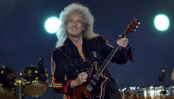 Brian May fue hospitaizado durante pandemia del COVID-19. (Foto:AFP)
