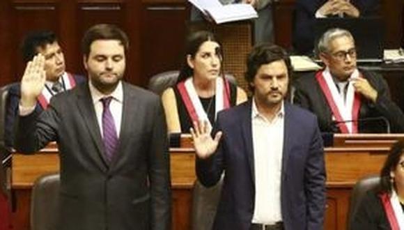 El Partido Morado denunció que hay una persecución contra De Belaunde y Olivares (Congreso).