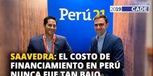 José Carlos Saavedra: El costo de financiamiento en Perú nunca fue tan bajo [VIDEO]