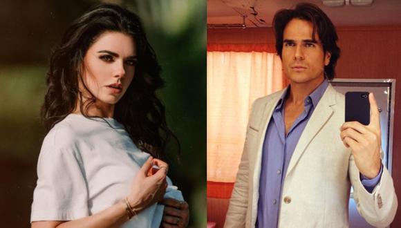 """Los actores protagonizaron la telenovela """"Médicos, Línea de Vida"""" en el 2019 (Foto: Livia Brito / Daniel Arenas / Instagram)"""