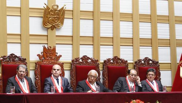 Tribunal Constitucional dio su fallo antes que sean reemplazados. (Peru21)