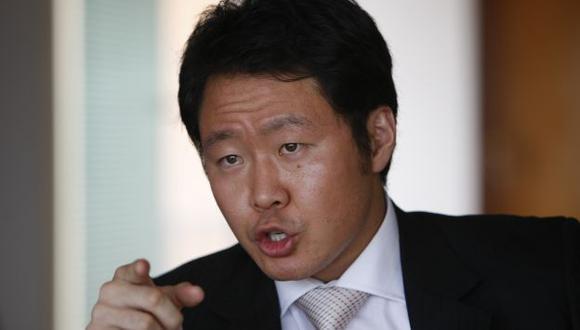 Kenji Fujimori sale con fuerza a defender liderazgo de su padre. (USI)
