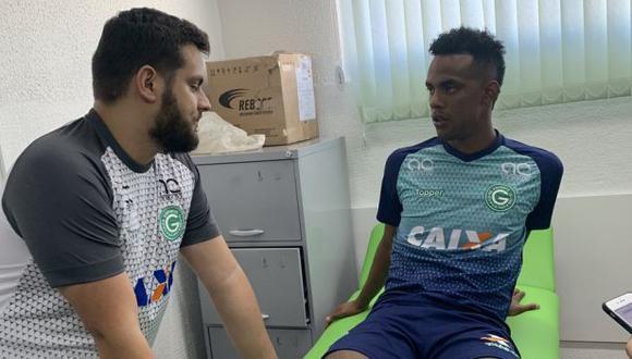 Nilson Loyola fue anunciado como jugador de Goias por la temporada 2019. (Foto: @goiasoficial)