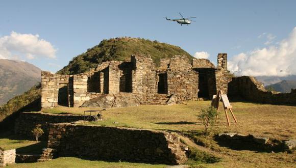 Imponente ruina. El recinto religioso inca de Choquequirao es comparado con Machu Picchu. (USI)