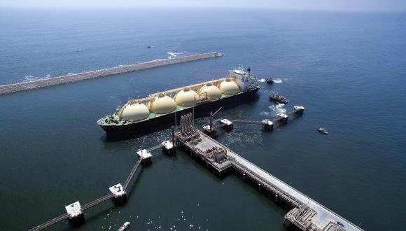 El terminal de Perú LNG es parte de su planta de licuefacción de gas natural al sur de Lima.