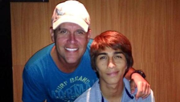 Gian Marco con Daniel Lazo. (laestrella.com.pa)