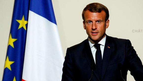 Macron solicitó este jueves que el tema de los incendios en la Amazonía fuera tratado en el G7. (Foto: AFP)