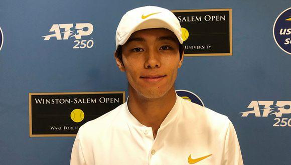 Duckhee Lee, el surcoerano que se ha convertido en el héroe del ATP de Winston-Salem. (Foto. AP)