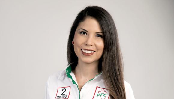 Matilde Lozada es abogada y aspira llegar al Parlamento por la región Arequipa. (Foto: Difusión)