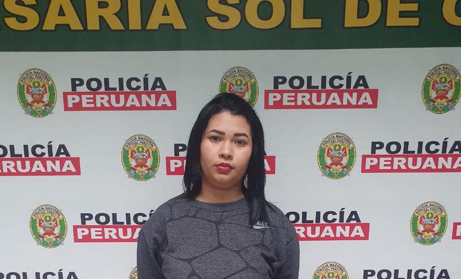 Otra implicada. Jacksiver Salcedo es la última de las detenidas por este caso.