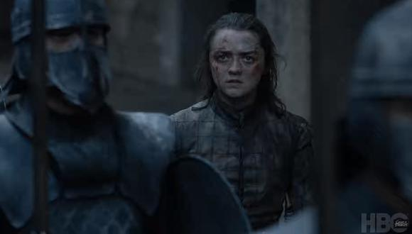 "Maisie Williams revela quién iba a asesinar al ""Rey de la Noche"" en ""Game of Thrones"". (Foto: HBO)"