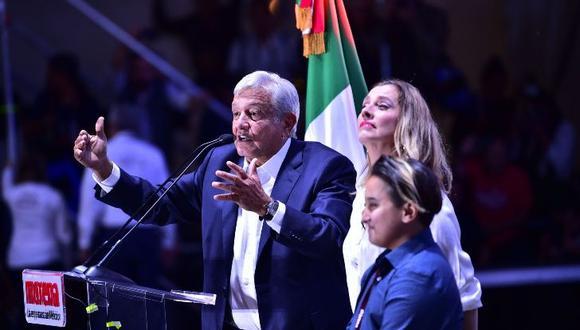 Beatriz Gutiérrez Müller es esposa de Andrés Manuel López Obrador desde el 2006. (AFP)