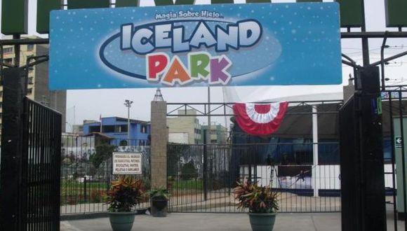 Local de Iceland Park, ubicado en la cuadra 17 de la avenida Salaverry, está ocupando (Difusión)