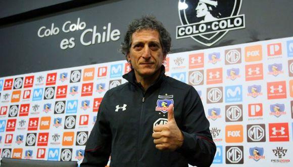 Mario Salas dio positivo al test de coronavirus que le realizó Alianza Lima. (Foto: Colo Colo)