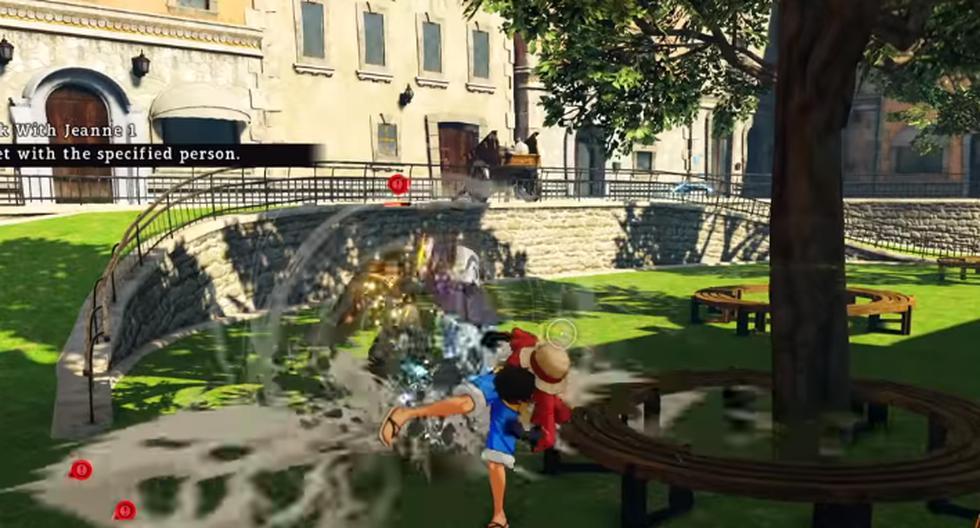 Videojuego de One Piece estará disponible para PlayStation 4, Xbox One, y PC vía Steam. (Fotos: Bandai Namco)