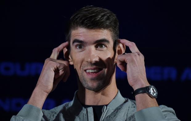 Michael Phelps se solidarizó con Simone Biles. (Foto: AFP)